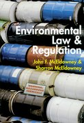 Cover for Environmental Law and Regulation