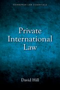 Cover for Private International Law Essentials