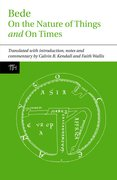 Cover for Bede: On the Nature of Things and On Times