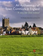 Cover for Archaeology of Town Commons in England