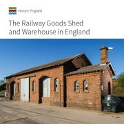 Cover for The Railway Goods Shed and Warehouse in England