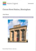 Cover for Curzon Street Station, Birmingham
