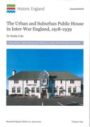 Cover for Urban and Suburban Public House in Inter-War England, 1918-1939