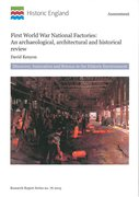 Cover for First World War National Factories