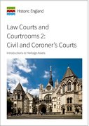 Cover for Law Courts and Courtrooms 2: Civil and Coroner