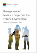 Cover for Management of Research Projects in the Historic Environment