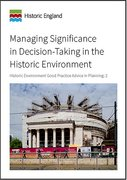 Cover for Managing Significance in Decision-Taking in the Historic Environment