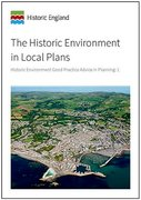 Cover for The Historic Environment in Local Plans