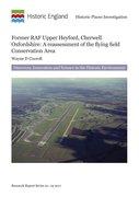 Cover for Former RAF Upper Heyford, Cherwell, Oxfordshire