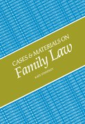 Cover for Cases and Materials on Family Law