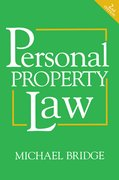 Cover for Personal Property Law