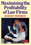Cover for Maximising the Profitability of Law Firms