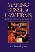 Cover for Making Sense of Law Firms