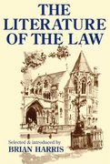 Cover for The Literature of the Law