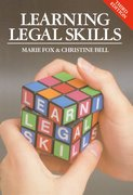Cover for Learning Legal Skills