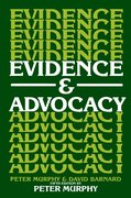 Cover for Evidence and Advocacy