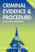 Cover for Criminal Evidence and Procedure