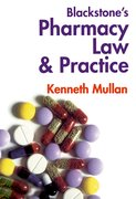 Cover for Pharmacy Law and Practice