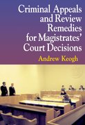 Cover for Criminal Appeals and Review Remedies for Magistrates
