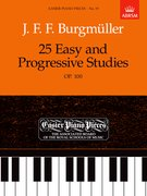 25 Easy and Progressive Studies, Op.100