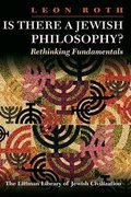 Cover for Is There a Jewish Philosophy?
