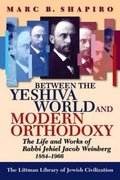 Cover for Between the Yeshiva World and Modern Orthodoxy