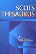 Cover for Scots Thesaurus