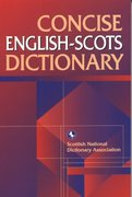 Cover for Concise English-Scots Dictionary