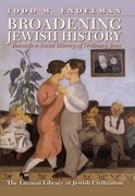 Cover for Broadening Jewish History