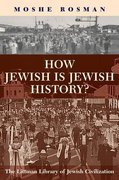 Cover for How Jewish is Jewish History?