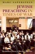 Cover for Jewish Preaching in Times of War, 1800-2001
