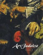 Cover for Ars Judaica: The Bar-Ilan Journal of Jewish Art, Volume 3