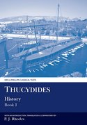 Cover for Thucydides History Book I