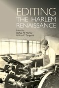 Cover for Editing the Harlem Renaissance