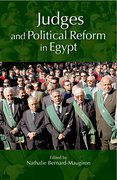 Cover for Judges and Political Reform in Egypt