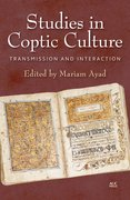 Cover for Studies in Coptic Culture