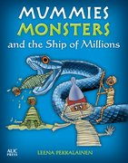 Cover for Mummies, Monsters, and the Ship of Millions