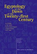 Cover for Egyptology at the Dawn of the Twenty-First Century Volume 2