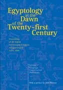 Cover for Egyptology at the Dawn of the Twenty-First Century Volume 3