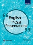 Cover for English for Oral Presentations