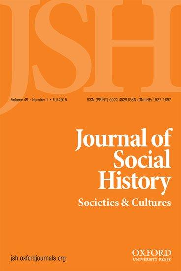 journal of social history - matthew karush