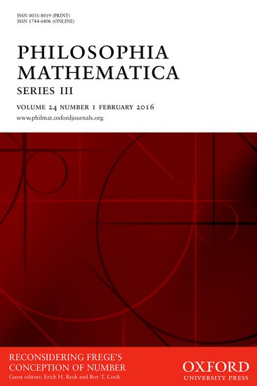 Philosophia Mathematica - Robert S  D  Thomas - Oxford