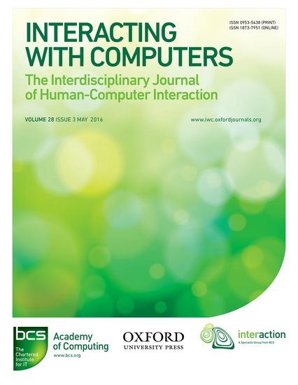interacting with computers russell beale oxford university press