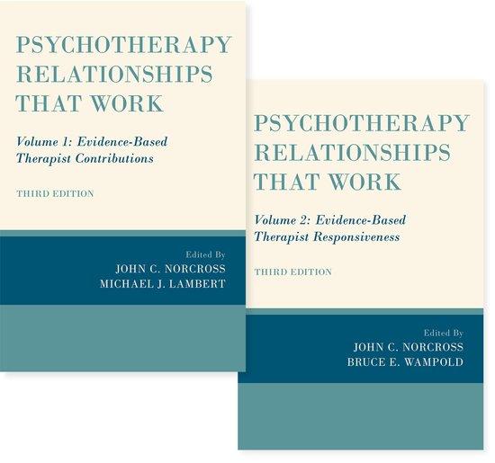 Resultado de imagen de Psychotherapy Relationships That Work