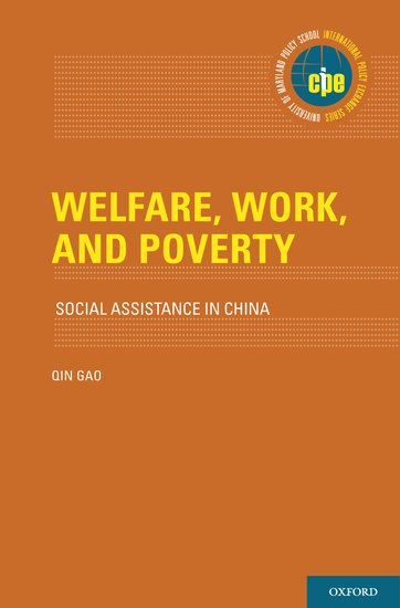 Welfare Work And Poverty Qin Gao Oxford University Press