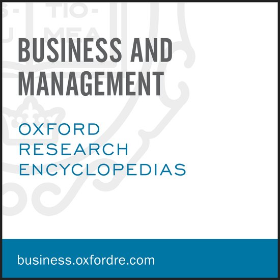 Image result for Oxford Research Encyclopedia of Business and Management
