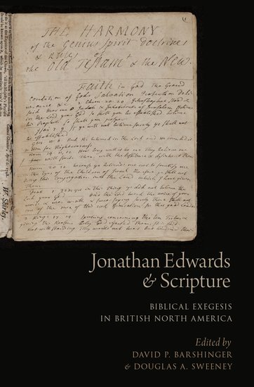 jonathan edwards and scripture paperback david p barshinger