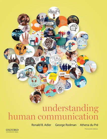 Understanding Human Communication Paperback Ronald B Adler