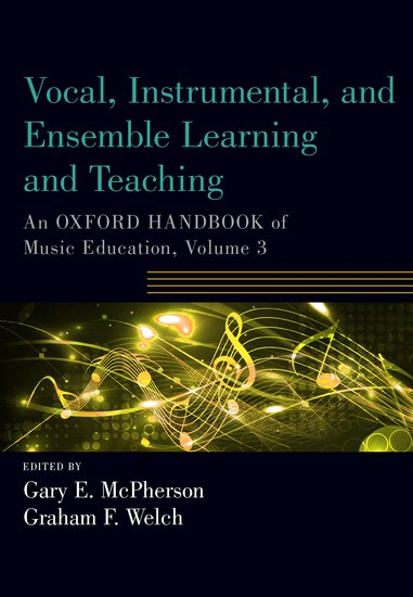Vocal Instrumental And Ensemble Learning And Teaching Gary
