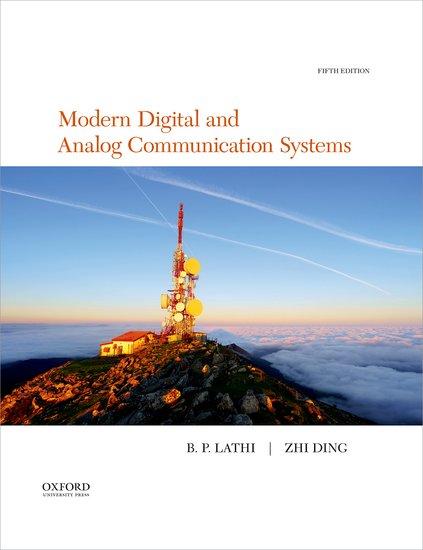 Modern Digital and Analog Communication